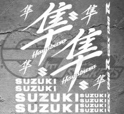 Planche XXL - 19 Stickers Suzuki Hayabusa GSX 1340 R