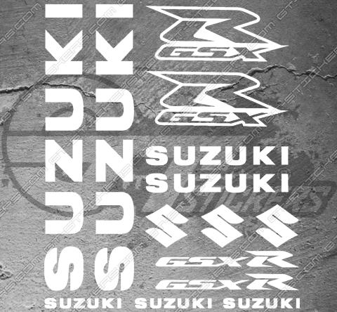 Kit Stickers Liserets de jante Signature Kymco Xciting 250 - 8 mm