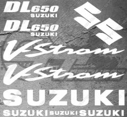 Planche XXL - 10 Stickers Suzuki DL650 V-STROM