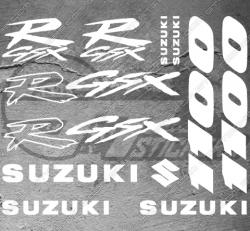 Planche XXL - 12 Stickers Suzuki 1100 GSX-R