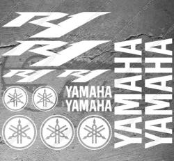 Planche XXL - 13 Stickers Yamaha R1