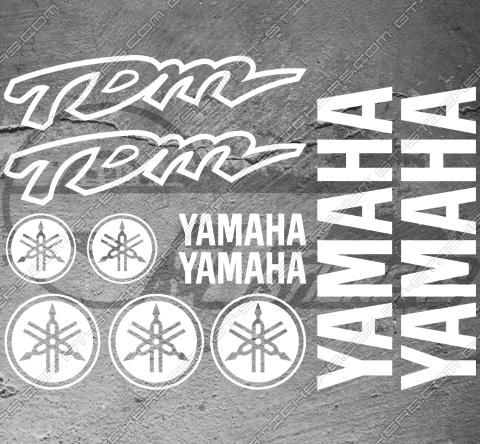 4 Stickers YAMAHA FZ1 Déco intérieur jantes Moto