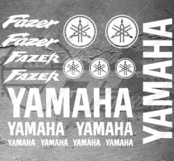 Planche XXL - 17 Stickers Yamaha Fazer