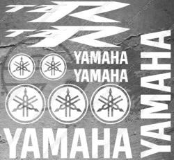 Planche XXL - 11 Stickers Yamaha TZR
