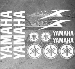 Planche XXL - 11 Stickers Yamaha XTX