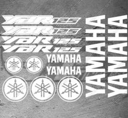 Planche XXL - 13 Stickers Yamaha YBR 125