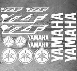 Planche XXL - 13 Stickers Yamaha YZF