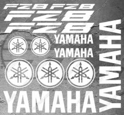 Planche XXL - 13 Stickers Yamaha FZ8