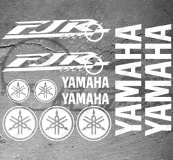 Planche XXL - 11 Stickers Yamaha FJR 1300