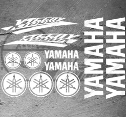 Planche XXL - 11 Stickers Yamaha XT 660 X