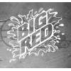 Stickers Big Red