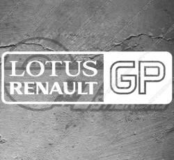 Stickers Renault Lotus GP
