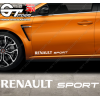 Stickers Renault Sport, taille au choix