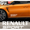 Stickers Renault Sport, taille au choix