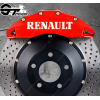 Kit 4x Stickers Renault pour étriers de frein