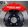 Kit 4x Stickers Renault Sport pour étriers de frein