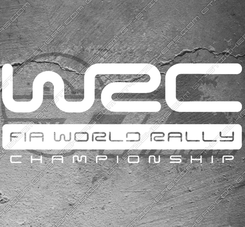Sticker WRC FIA