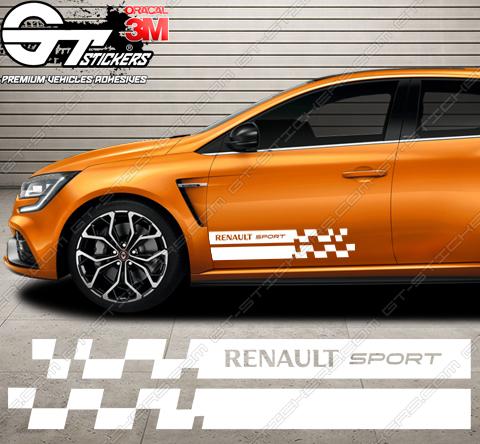 Kit Bandes Latérales Renault Sport MX