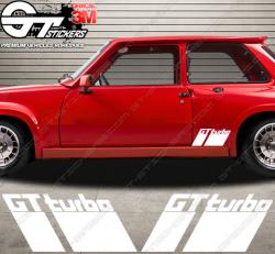 Kit Stickers Renault GT Turbo