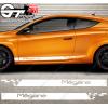 Kit bandes latérales Renault Mégane