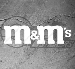 Stickers m&m