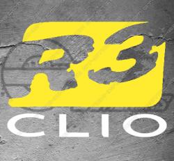 Stickers Renault Clio R3