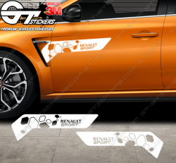 Kit 2x Stickers Renault Sport RS16