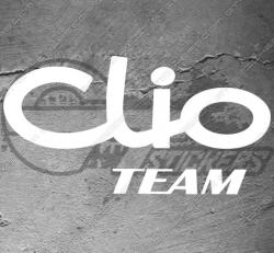 Stickers Renault Clio Team