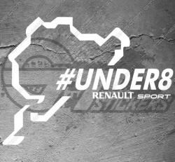 Stickers Nurburgring Under8 Renault Sport