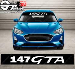 Bandes Pare-soleil Alfa Roméo 147 GTA