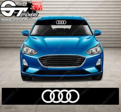 Bandes Pare-soleil Logo Audi