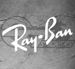 Sticker Ray ban