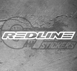 Stickers Redline, taille au choix