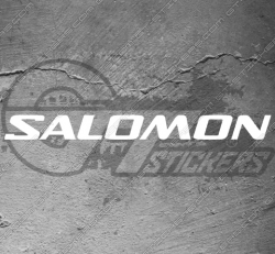 Stickers Salomon, taille au choix
