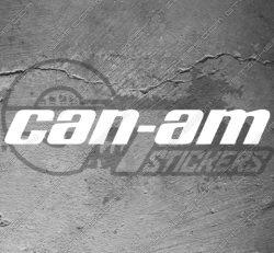 Stickers Can-am, taille au choix