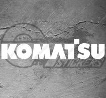Stickers Komatsu
