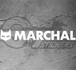 Stickers Logo Marchal, taille au choix