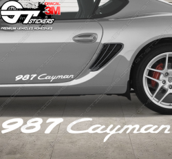 1x Stickers Porsche 987 Cayman