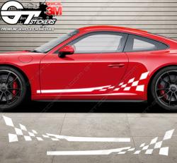 Kit bandes latérales Porsche 911 GT3 RS