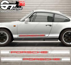 Kit bandes latérales Porsche 911 Vintage