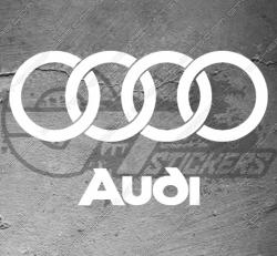 Stickers Audi Logo