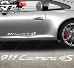 Sticker Porsche 911 Carrera 4S
