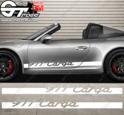 Kit bandes latérales Porsche 911 Targa