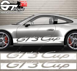 Kit bandes latérales Porsche 911 GT3 Cup