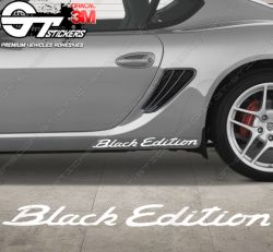 Stickers Porsche Cayman Black Edition
