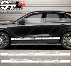 Bandes latérales pour Porsche Cayenne S Transsyberia