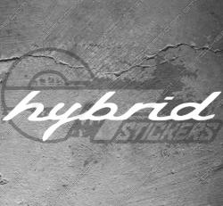 Stickers Porsche Hybrid