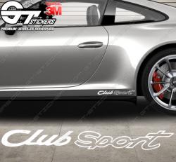 Stickers Porsche Club Sport
