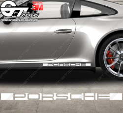 Stickers Logo Bande Porsche