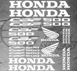 Planche XXL - 19 Stickers Honda CBF 500